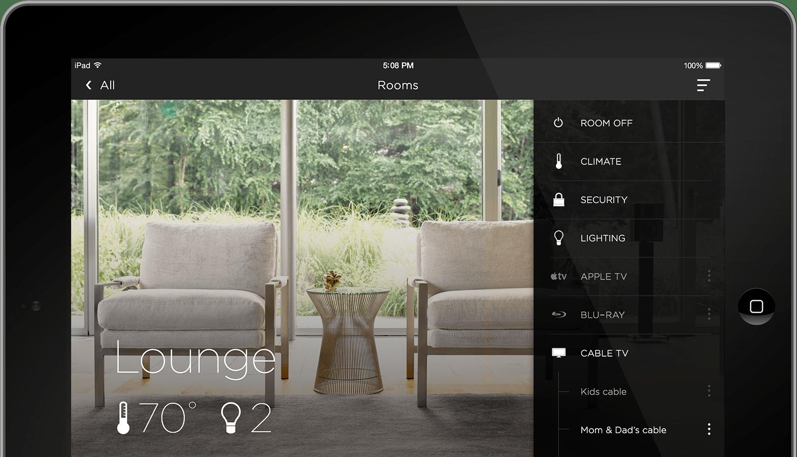 iPad Smart Home
