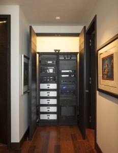 Multi Room Audio Rack