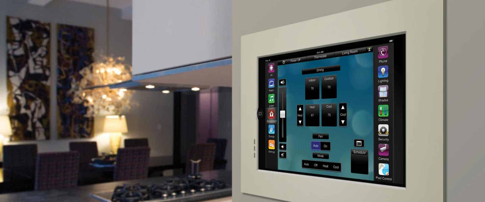 Home theater systems lutron lighting whole house audio nyc for Automated home system