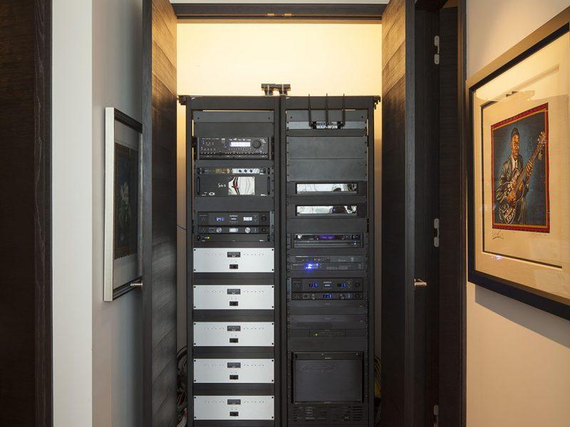 Multi Room Audio Rack